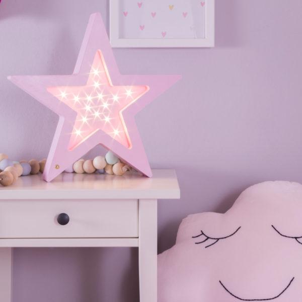 lampka nocna led gwiazda
