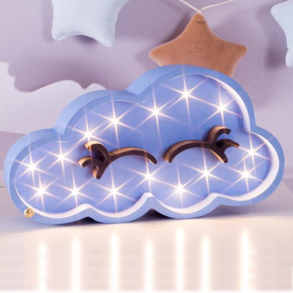 lampka nocna dla dzieci chmurka